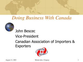 Doing Business With Canada
