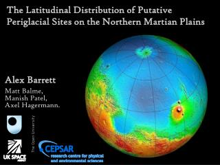The Latitudinal Distribution of Putative Periglacial Sites on the Northern Martian Plains