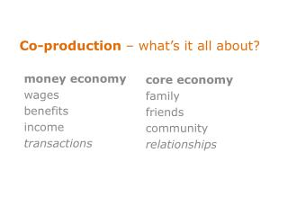 Co-production  – what ' s it all about?