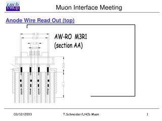Anode Wire Read Out (top)