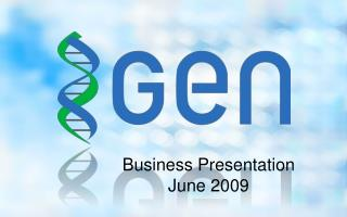 Business Presentation June 2009