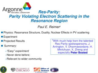 Res-Parity: Parity Violating Electron Scattering in the Resonance Region