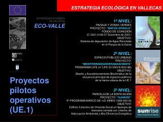 ESTRATEGIA ECOLÓGICA EN VALLECAS