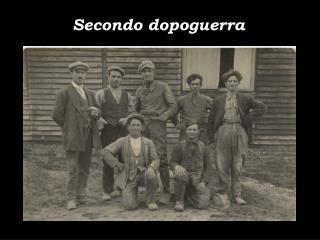 Secondo dopoguerra