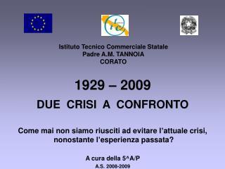 Istituto Tecnico Commerciale Statale Padre A.M. TANNOIA CORATO
