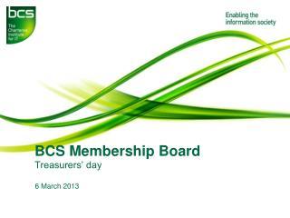 BCS Membership Board