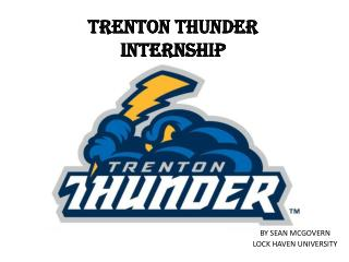 Trenton Thunder Internship