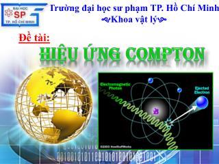 Trường đại học sư phạm TP. Hồ Chí Minh  Khoa vật lý 