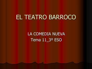 EL TEATRO BARROCO