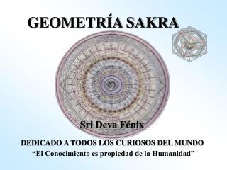 GEOMETRÍA SAKRA