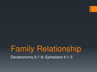 Family Relationship
