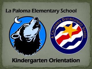 La  Paloma  Elementary School