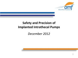Safety and Precision of Implanted Intrathecal Pumps