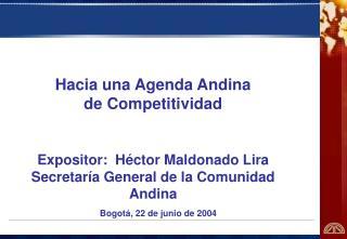 Bogotá, 22 de junio de 2004