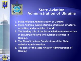 State Aviation Administration of Ukraine