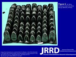 Figure 3.  Air Roho Enhancer model (The Roho Group; Belleville, Illinois).