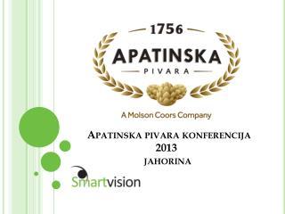 Apatinska pivara konferencija 2013  jahorina