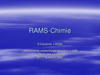 RAMS-Chimie