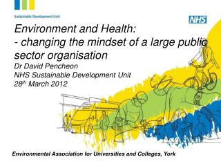 Environmental Association for Universities and Colleges, York