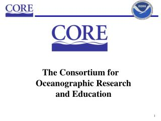The Consortium for Oceanographic Research and Education