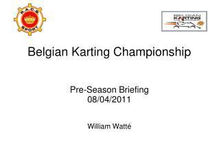 Belgian Karting Championship