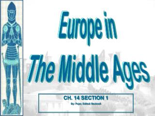 Europe in The Middle A ges