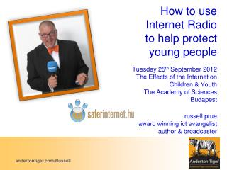 How to use Internet Radio to help protect young people