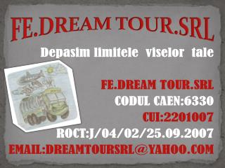 FE.DREAM TOUR.SRL