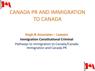IMMIGRATION TO CANADA  SKILLED WORKER CATEGORY