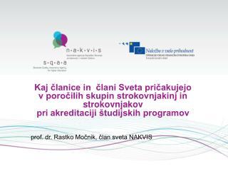 Akreditacija študijskih programov