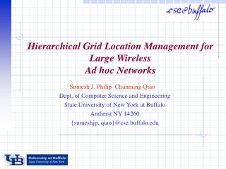 Hierarchical Grid Location Management for Large Wireless Ad hoc Networks