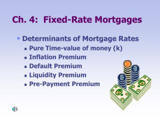 Ch. 4:  Fixed-Rate Mortgages