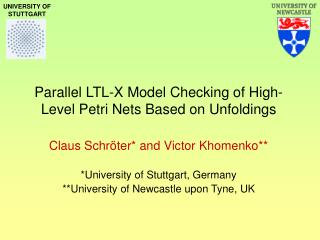 Parallel LTL-X Model Checking of High-Level Petri Nets Based on Unfoldings