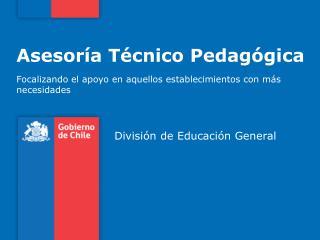 Asesoría Técnico Pedagógica