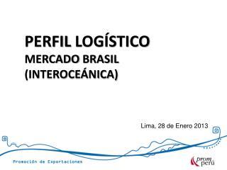 Lima, 28 de Enero 2013