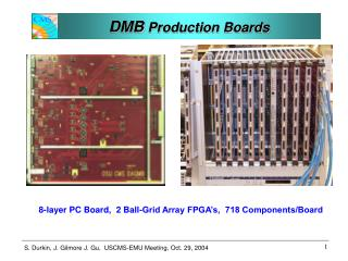 DMB  Production Boards