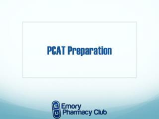 PCAT Preparation