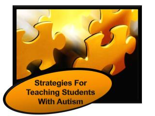 Strategies For Teaching Students With Autism