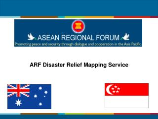 ARF  Disaster Relief  Mapping Service