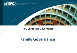 IFC Corporate Governance