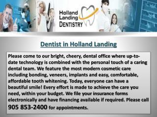 Dentist in Holland Landing