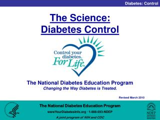 The Science:  Diabetes Control