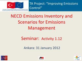 "TA Project: ""Improving Emissions Control"""
