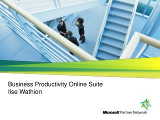 Business Productivity Online Suite Ilse Wathion