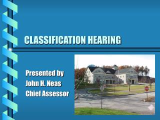 CLASSIFICATION HEARING