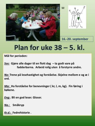 Mål for perioden: