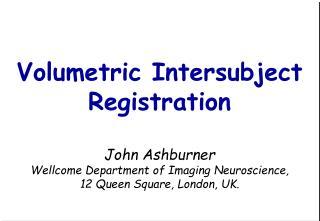 Intersubject registration for fMRI
