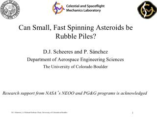 Can Small, Fast Spinning Asteroids be Rubble Piles?