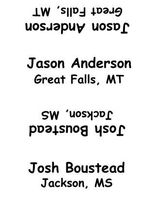 Jason Anderson Great Falls, MT