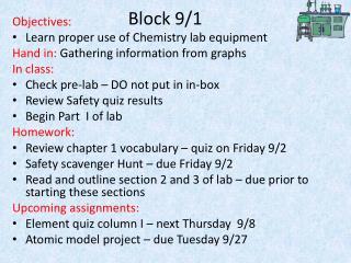 Block 9/1